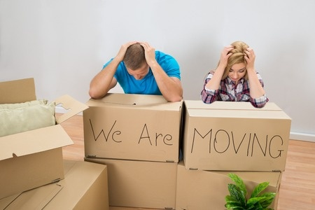 moving to a friends house